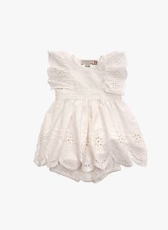 With a wide array of shoes, clothes, & accessories, we can dress your baby girl from head to toe. Find designer baby clothes for any occasion at Fawn Shoppe. Stella Mccartney Kids, Outfits Niños, Kids Outfits, Fashion Outfits, Little Girl Fashion, Kids Fashion, Aya Sophia, White Eyelet Dress, Cute Baby Clothes