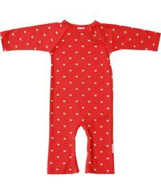 Chouette combinaison avec papillons par Baba Babywear. baba-babywear.fr.emilea.be