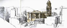 Málaga, cathedral from fortress   Flickr - Photo Sharing!