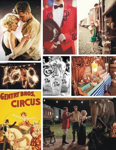 """Water for Elephants! Such a wonderful movie and where I fell in love with the idea of a """"Vintage Circus"""" for my wedding and reception!  It will be a """"Gatsby Day at the Circus"""" if and/or when it does happen!  = )"""
