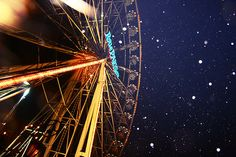 1. go on a ferris wheel with your man 2. reach the top & kiss 3. wish that you will always be together will be granted