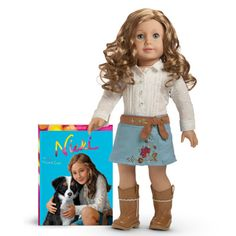 American Girl Doll of the Year Nicki and Paperback Book * For more information, visit image link. (This is an affiliate link) My American Girl Doll, American Girl Crafts, American Girl Accessories, Doll Accessories, Michaela, America Girl, Ag Doll Clothes, Madame Alexander Dolls, Ag Dolls