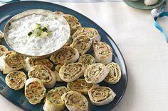 Rouelles au fromage à la grecque Image 1