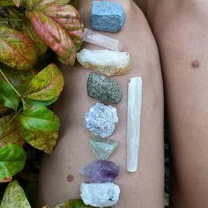 New! Raw crystal bundles  $13 for 9 stones