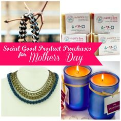 A Marketplace for Social Good:  Shop DoGoodBuyUs - great picks for #MothersDay