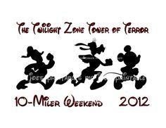 Tower of Terror Marathon Disney DIY Printable by mrjoesprintables, $5.00