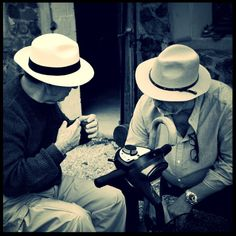 Hats and Conversation #France #camping #travel #friendship #discussion #debate