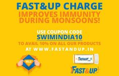 Super Saver offers Running on #FastandUp! Sports Nutrition products at 10% off Use Coupon Code – SWIMINDIA10