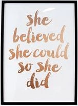"Monday Motivation Discover Inspirational Print ""She Believed She Could So She Did"" Quote Printable Rose Gold Print Motivational Poster Rose Gold Decor Rose Print Inspirational Print She Believed She Could So by FleurtCollective Now Quotes, Cute Quotes, Quotes To Live By, Believe Quotes, Deep Quotes, Daily Quotes, Wisdom Quotes, Funny Quotes, Quotes Intelligence"