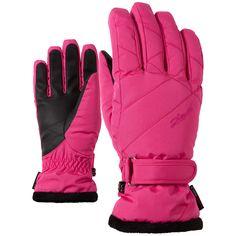 Ziener, Kami skihandschoenen dames, Roze