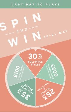 Contest Spin 'n Win Food Poster Design, Ad Design, Layout Design, Graphic Design Magazine, Magazine Design, Email Template Design, Email Newsletter Design, Minimal Web Design, Design Bauhaus