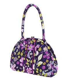 Vera Bradley Floral Nightingale Eloise Shoulder Bag a2b6c887581c2