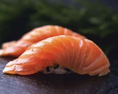 I could eat Salmon Nigiri ALL DAY LONG!
