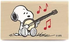 Snoopy with a Banjo! Snoopy Love, Charlie Brown And Snoopy, Snoopy And Woodstock, Peanuts Cartoon, Peanuts Snoopy, Peanuts Characters, Cartoon Characters, Charles Shultz, Bluegrass Music