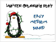 """Winter coloring fun!"" (Multiplicaciones de invierno) Student Learning, Have Fun, Winter, Maths Area, Winter Scenery, Interactive Activities, Multiplication Tables, Teaching Resources, Learning"