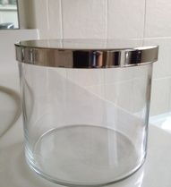 How to remove the wax from a candle jar. Brilliant! Hurricane Sandy craft...