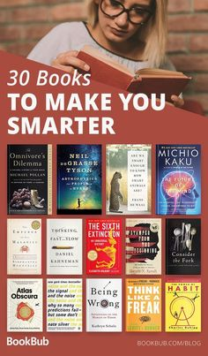From the cosmos to cultural analysis to fascinating psychology to eye-opening memoirs, these are 30 books that will make you smarter — and very glad you read them. psychology 30 Nonfiction Books That Are Guaranteed to Make You Smarter Book Challenge, Reading Challenge, Best Books To Read, Great Books, Best Non Fiction Books, Good Books To Read, Best Books For Men, Best Books Of All Time, Books To Read In Your 20s