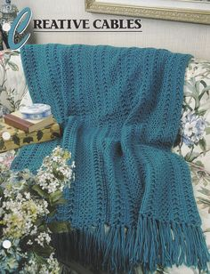 Creative Cables Annie's Attic Crochet Quilt and Afghan
