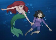 Kingdom keepers power play Wila and Ariel