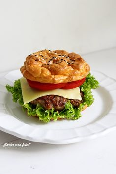 Oopsie – als Burger (Low Carb) Burger Recipes, Grilling Recipes, Paleo Recipes, Low Carb Recipes, Cheap Meals, Everyday Food, Food Videos, Food Porn, Food And Drink
