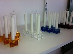 next summer's crystal cable holders - imagine what you could light up with a Mega Millions winning's worth of these!