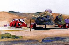 View South Truro post office I by Edward Hopper on artnet. Browse upcoming and past auction lots by Edward Hopper. Truro, American Realism, American Artists, Edward Hopper Paintings, Ashcan School, Oil Painting Reproductions, Solitude, Van Gogh, Watercolors