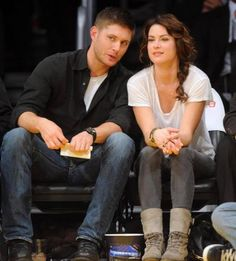 Danneel Ackles and husband