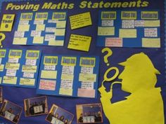 Year 6 Maths Display