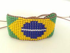 Loom Beading  Tear de miçangas #Bohemian #Fashion #Style #Indie #Boho #Navajo #Friedship #Bracelets #Hippie #Pulseira #Handmade