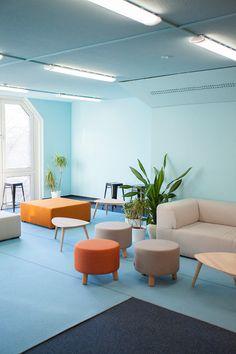 INDECORATE Make-over: Dynamisches Office-Design für eine Berliner Privatschule