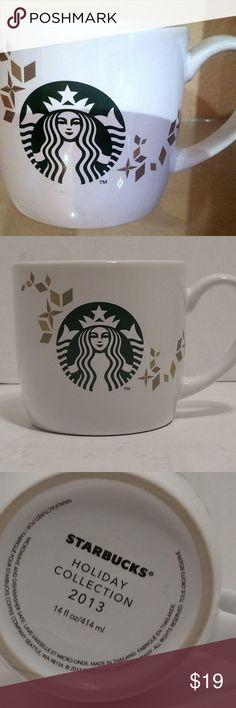 STARBUCKS Shared Moments 2013 Holiday Collection Coffee Cup Mug NEW