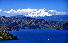 Shasta Lake!