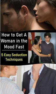 How to Get a Woman in the Mood Fast - 5 Easy Seduction Techniques Dating Tips For Men, Mens Sunglasses, Beautiful Women, Mood, Woman, Feelings, Lifestyle, Health, Health Care