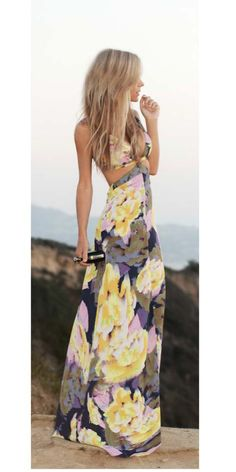Summer Maxi Dress For Ladies Click The Picture To See More