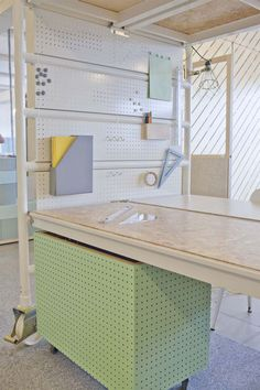 dave keune realizes design innovation space in collaboration with PROUD #pegboard