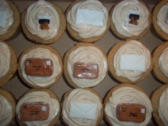 Post office Cupcakes