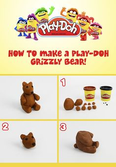 Our fans selected grizzly bears to represent Montana! Here's how you can sculpt them!