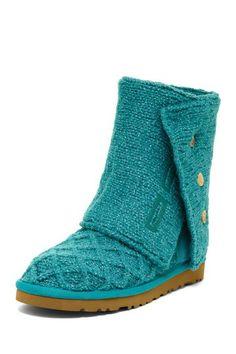 UGG Australia Lattice Cardy Knit Boots