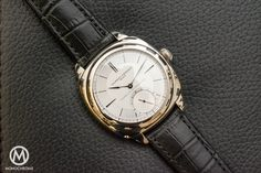 Laurent Ferrier Galet Classic Square Tourbillon Double Spiral Sector Dial - with live photos, specs and price