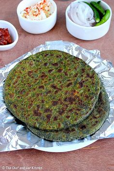 Spicy aroma shaam savera palak paneer kofta curry step by step stuffed parathas with home made north indian style mirch achaar palak paneer forumfinder Image collections
