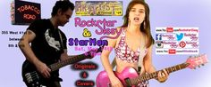 Rockstar Sissy & StarMan performance Saturday, May 14th from 6-7pm at 355 West 41st Street (Venue: Tobacco Road) Originals & Covers. Performing as part of the FREE Artists In The Kitchen Open Studio & Performance Event in NYC.