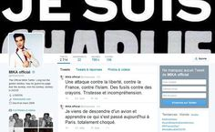 Mika tweets & Je Suis Charlie header