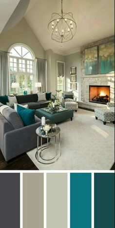 New Living Room Designs. New Living Room Designs. Worried About Going Gray Don T Be these Living Room Decor New Living Room, My New Room, Home And Living, Small Living, Cozy Living, Grey Living Room With Color, Grey Walls Living Room, Living Room Ideas Modern Grey, Living Room Decor Grey Walls