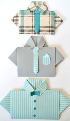 Modern Japan unit Origami - Fathers Day shirt card diy with step by step instructions for making a father's day shirt card. Homemade Fathers Day Card, Homemade Cards, Fathers Day Shirts, Fathers Day Crafts, Cute Cards, Diy Cards, Scrapbook Cards, Scrapbooking, Daddy Day