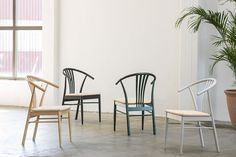 Sortlakkert bøk Outdoor Chairs, Dining Chairs, Outdoor Furniture, Outdoor Decor, Wishbone Chair, Home Decor, Dinner Chairs, Garden Furniture Outlet, Homemade Home Decor