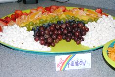 Fruit Rainbow for Luke's Noah's Ark Party
