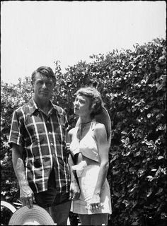 Cary Grant and his wife Betsy Drake