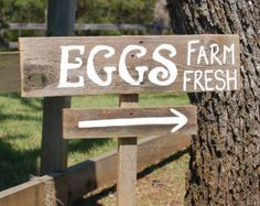 eggs for sale vintage sign - Google Search