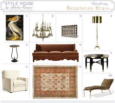 Style House by Atelier Turner is our canvas of designer furniture selections for those who love stylish living. If any of our features pique your interest, please contact us at www.atelierturner.com as almost all items are to the trade. Looking for some high-style glamour for your abode? Visit us at www.atelierturner.com