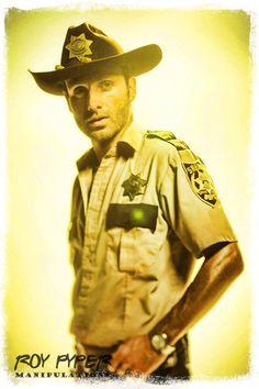 The Walking Dead: Rick: BuzSim Paint Re-Edit by nerdboy69 on DeviantArt